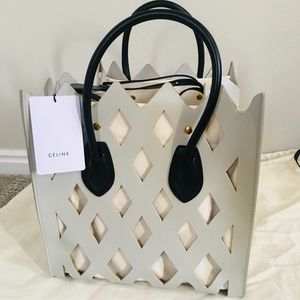 Celine medium Cutout Luggage Phantom